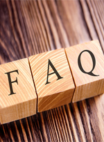 FAQ wooden letter blocks