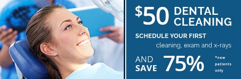 Dental cleaning special coupon